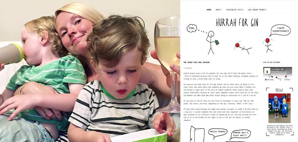 海外で人気の育児ブログ「(お酒の)ジン、万歳」って知ってる?
