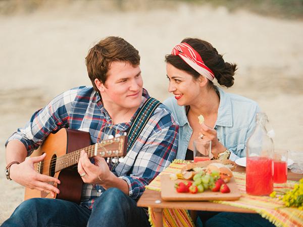 浜辺デート