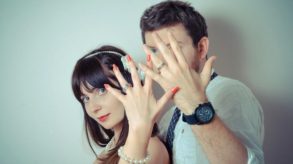 意外な発想に脱帽! 2人で1つのロマンチックな結婚指輪