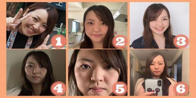 婚活サイトの女性プロフィール写真のパターン