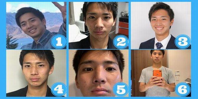 婚活サイトの男性プロフィール写真のパターン